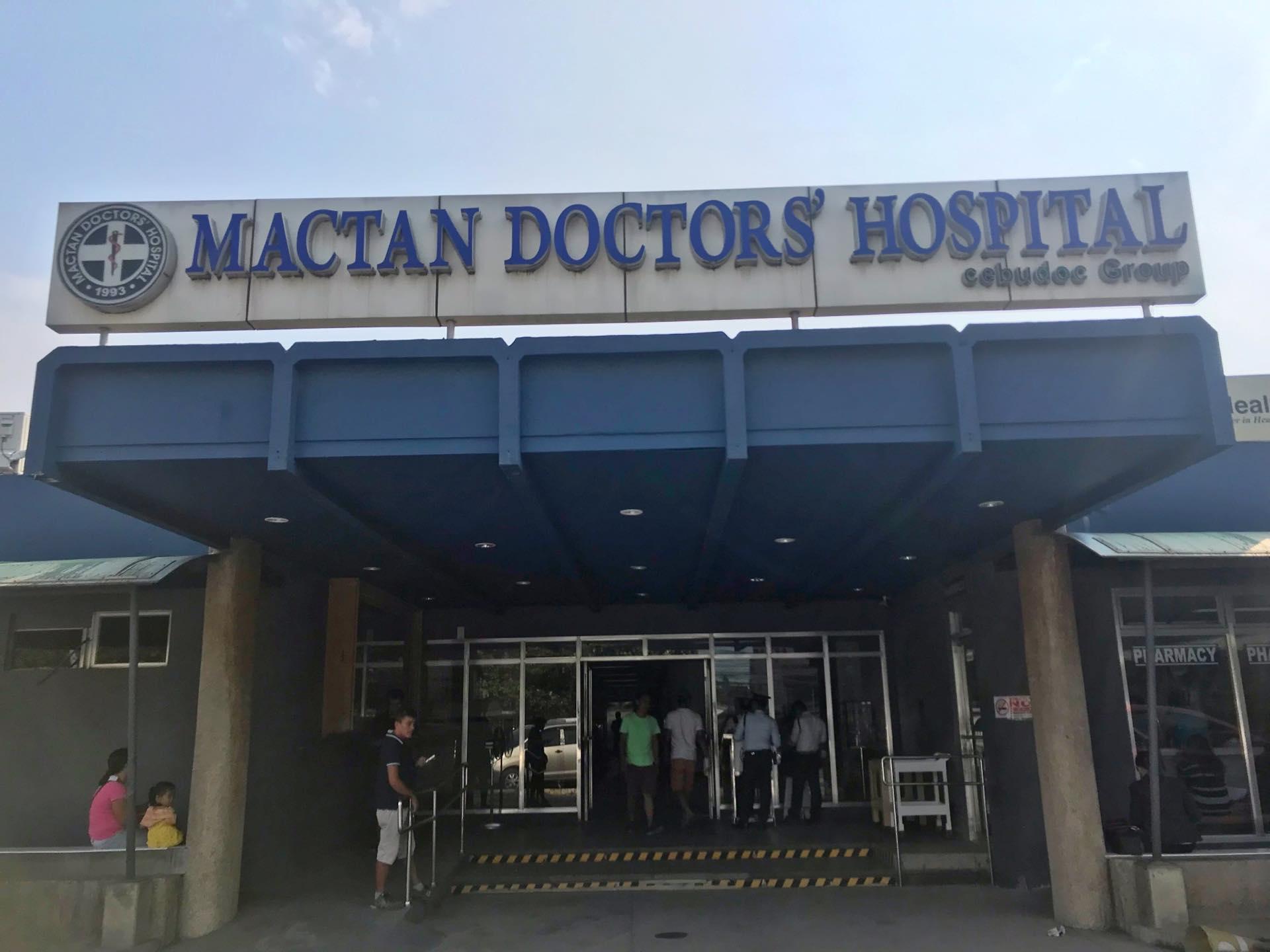 セブマクタン島の病院