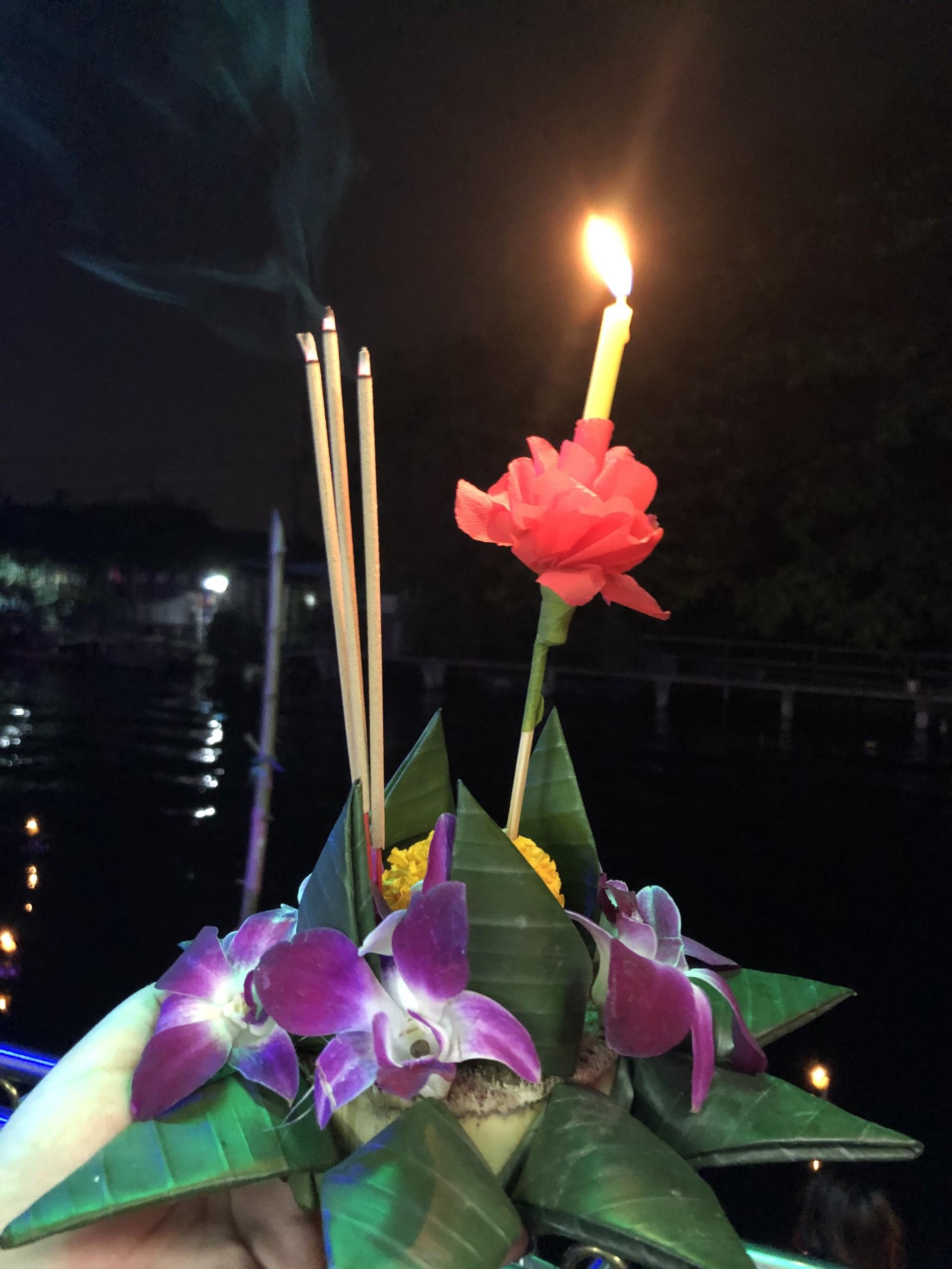 ロイクラトン 灯篭
